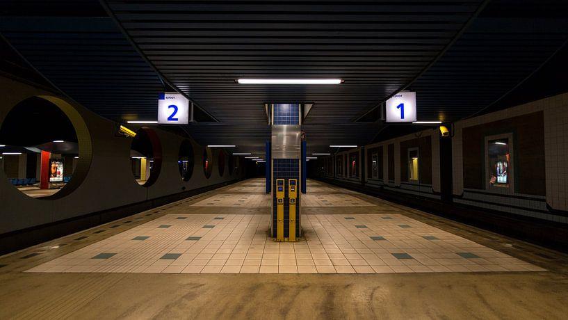 Treinstation van Ab Wubben