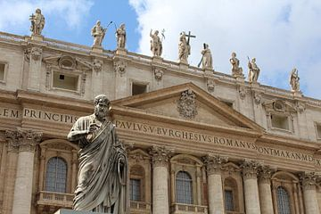 Petrus Vaticaanstad Rome van Martin van den Berg Mandy Steehouwer
