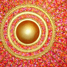Mandala - SUN - Sonne von Ralf Hasse