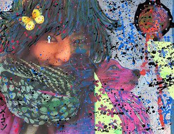 Tomiya-Chan and Ichiban in Wonderland van Atelier Liesjes