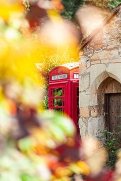 Engeland - Telephone box van Marco Scheurink