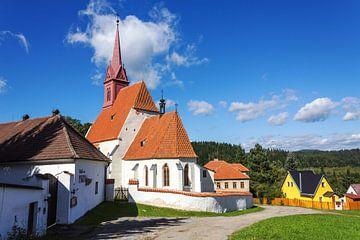 Kerkje in Tsjechië. von