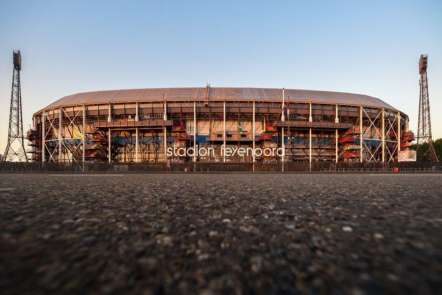 Stadion feyenoord de kuip par l 39 artiste feyenoord kampioen for Canvas feyenoord de kuip