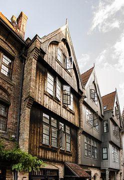 Historische Gebäude in Gent von Sander Jacobs
