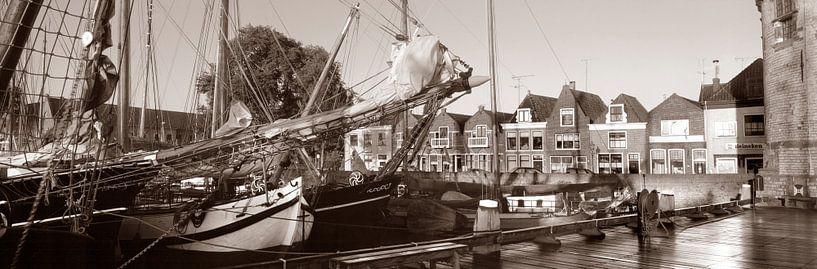 Haven Hoorn bruinevloot van Hans Albers