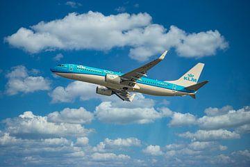 KLM PH BCK, Boeing 737-800, der Albatros von Gert Hilbink