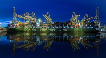 Containerterminal Rotterdam Maasvlakte. van Mario Calma