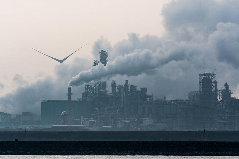 Maasvlakte, Rotterdam / Hoek van Holland van Eddy Westdijk