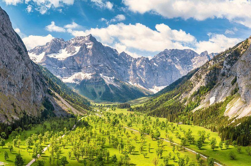 Sommer am Großen Ahornboden von Einhorn Fotografie