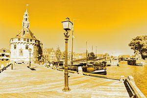Hoorn Noord-Holland Nederland Haven Gold