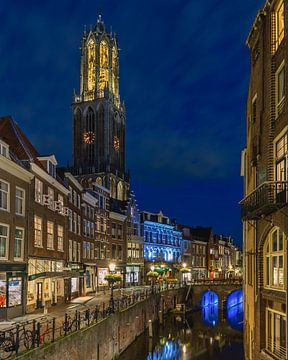 Utrecht - Dom Stadhuisbrug von Bart Hendrix