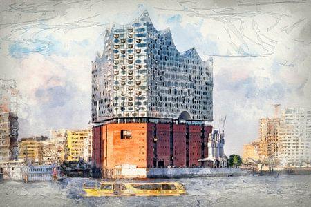 De nieuwe Elbphilharmonie in Hamburg