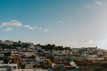 Vissersdorp Ferragudo | prachtig dorp in Portugal van Marloes Floor