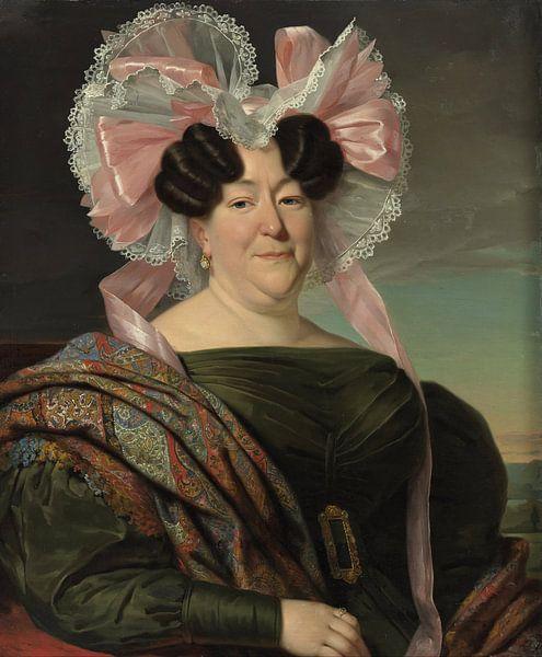 Porträt einer Dame, Jan Adam Kruseman von Meesterlijcke Meesters