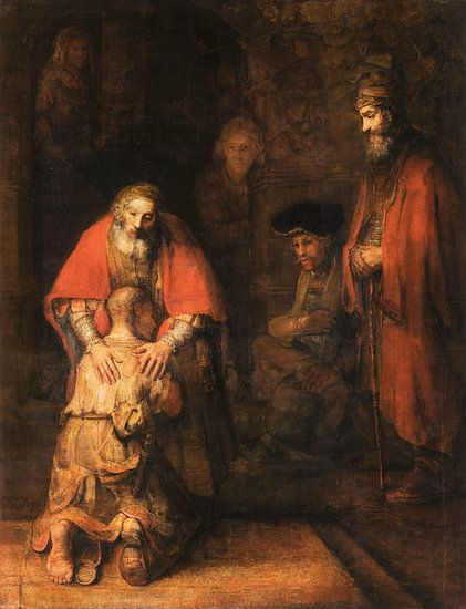 Rückkehr des verlorenen Sohnes, Rembrandt van Rijn