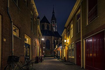 Trompetsteeg Delft sur Michael van der Burg
