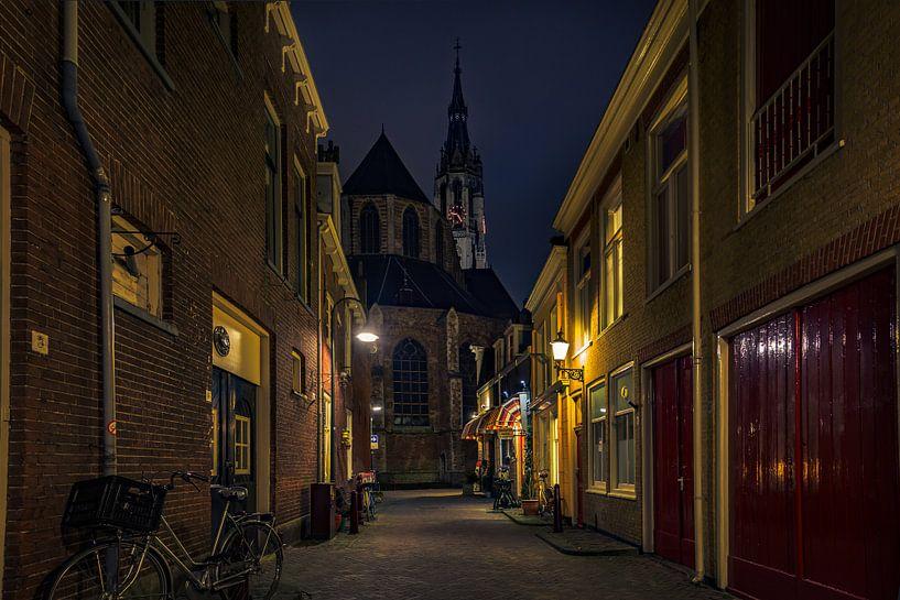 Trompetsteeg Delft van Michael van der Burg