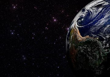 Terre et étoiles sur Digital Universe