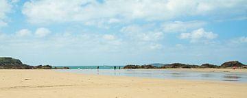Het strand bij St. Malo Frankrijk van