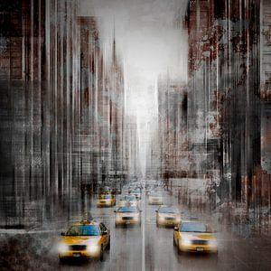 City-Art NYC 5th Avenue Verkeer