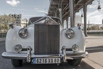 Rolls Royce in Parijs van Patrick Löbler