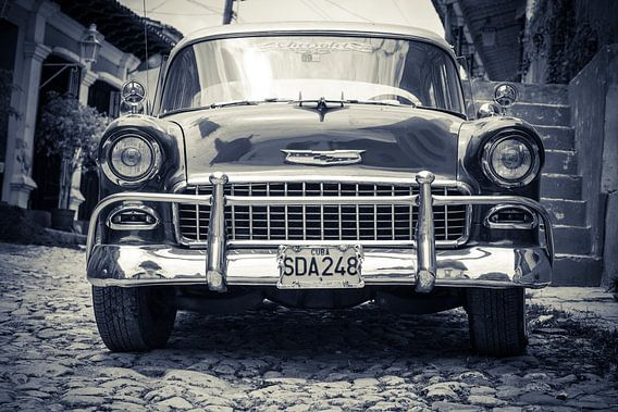 Cubaanse Auto van Robert Lambrix