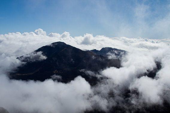 Vulkaan op Hawaï