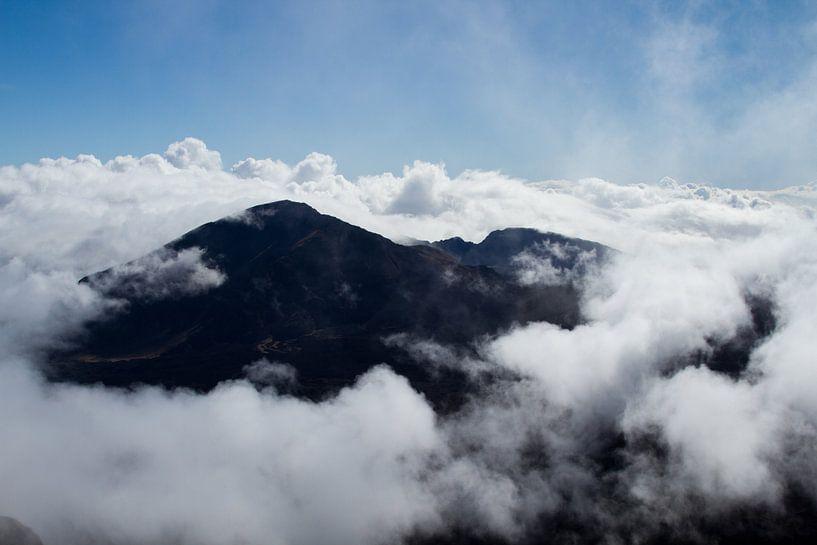 Vulkaan op Hawaï van Christoph Schaible