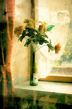 Stilleven met bloemen van Dianne van der Velden