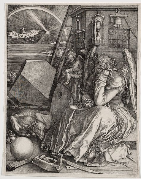 Melencolia I, Albrecht Dürer van De Canon