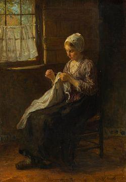 La jeune couturière, Jozef Israëls sur