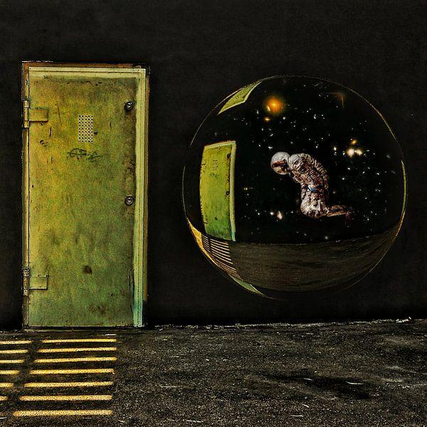 Lost – een zwevende astronaut in de Ruimte van Ruben van Gogh