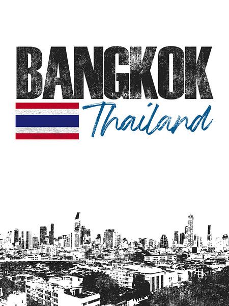 Bangkok Thailand van Printed Artings