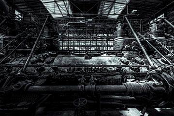 industrielle Demag-Maschinen im Ruhrgebiet von Okko Huising - okkofoto