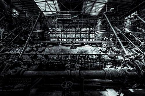 industriële demag machines in het Ruhrgebiet