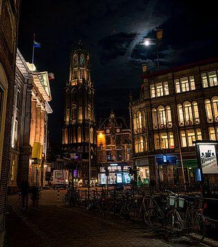 Stadhuis en Dom, Utrecht.