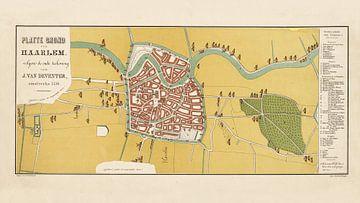 Karte Haarlem - 1550