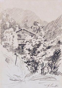 Bayern, Walchensee, LOVIS CORINTH, 1920 von Atelier Liesjes