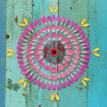 Blumen Mandala Gipsy von Margreet Ubels