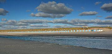 Strandhuisjes Noorderbad Paal 20 de Koog Texel von Ronald Timmer
