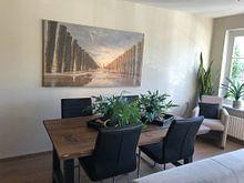 Photo de nos clients: groynes fantastiques en zeeland sur anne droogsma, sur toile