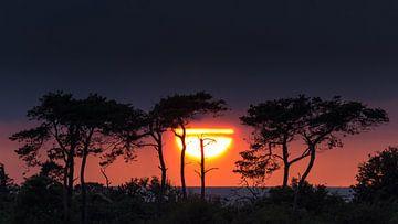Sonnenuntergang über der Ostsee von Ronny Rohloff