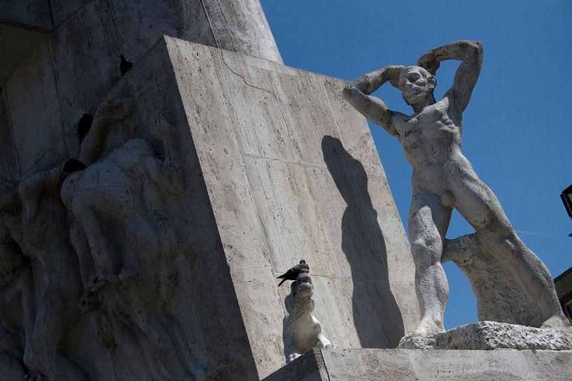 Nationaal Monument op de Dam van Ronald Jansen