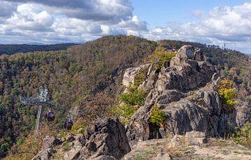 Bodetal, Thale; Harz, Saksen-Anhalt; Duitsland, Europa van Torsten Krüger