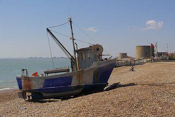Hythe UK, strand von Ton Reijnaerdts