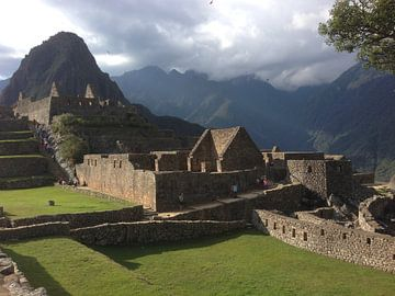 Macchu Picchu, Peru, geweldig zicht, ongerept van Patsy Van den Broeck