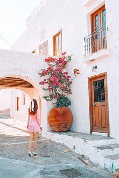 Blumen in Griechenland von Dymphe Mensink
