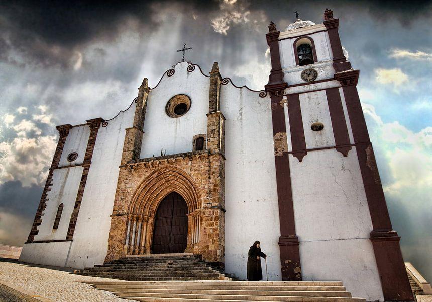 Silves Cathedral, Silves Portugal van Frank Wijn