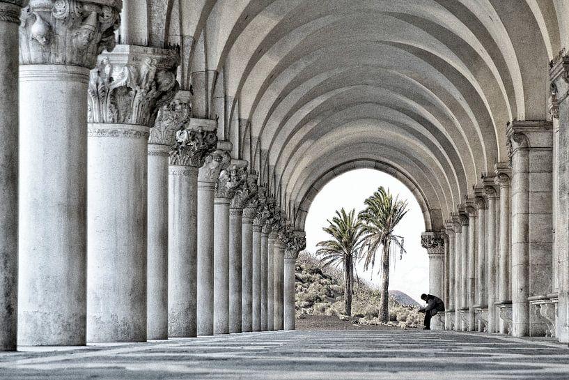 Contemplation, Venice 2007 van Xlix Fotografie