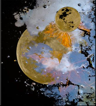 Moon Crater Star van Christiane Behrmann